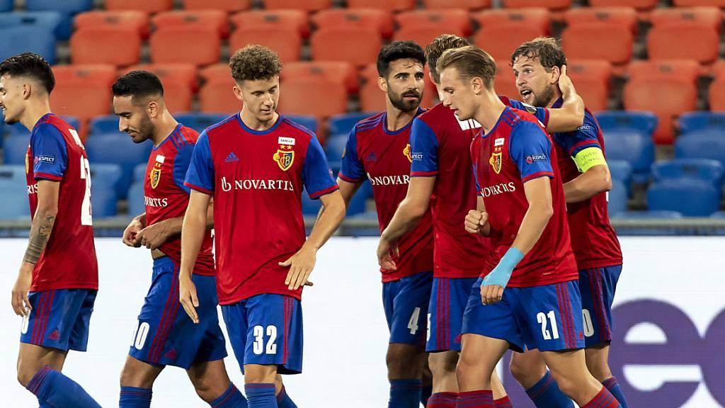 Basel steigt als Aussenseiter in das Finalturnier der Europa League