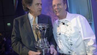Gemeinsam an der Oscar-Gala: Cohn (l.) und Aeschbacher (Archiv)