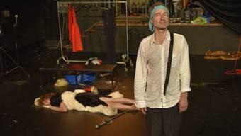 Szene im Theaterstück «Sportler des Herzens».