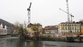 Bäder-Baustelle April 2019