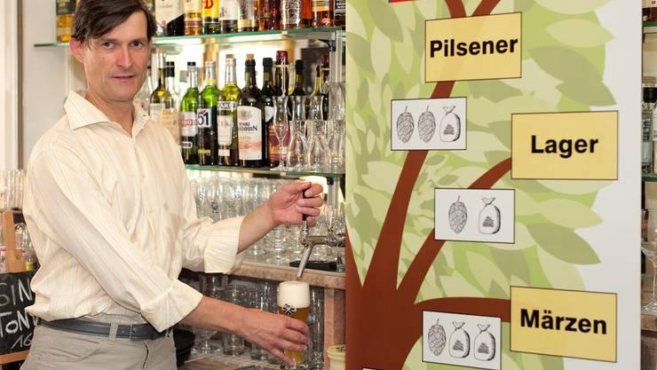 Matthias Stück ist begeistert von der steigenden Bier- und Brauerei-Vielfalt. Eines seiner liebsten Biere ist aktuell das Sauerbier.