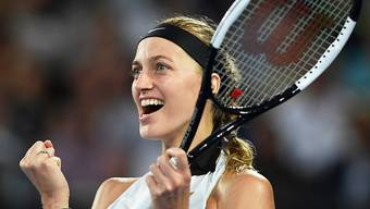 Befreiter Jubel: Petra Kvitova