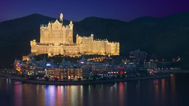 Gut kopiert, das Hotel Neuschwanstein in China