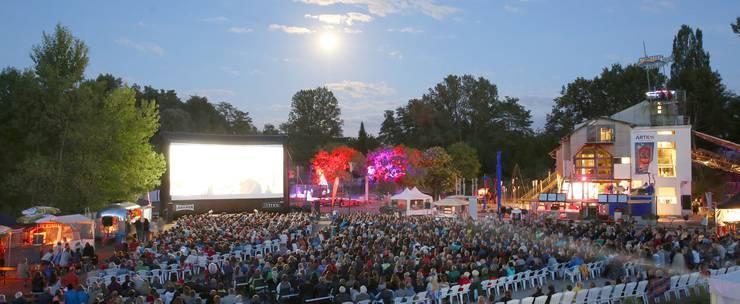 Open-Air-Festival im Kieswerk in Weil am Rhein