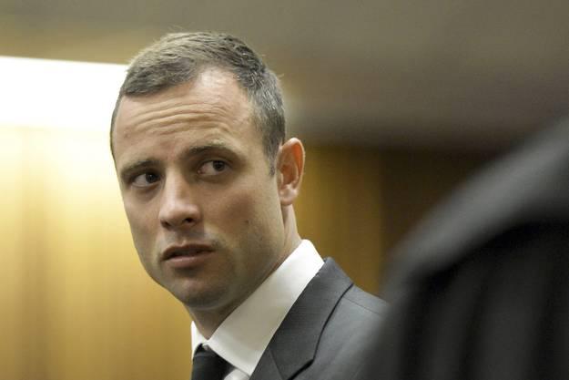 Oscar Pistorius am Gericht