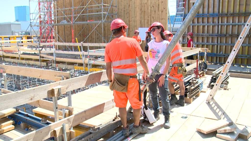 Hitzewelle: Unia kontrolliert Zürcher Baustellen