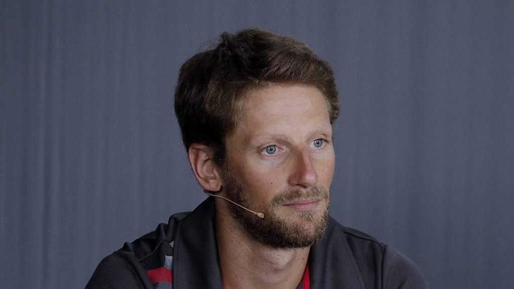 Romain Grosjean fährt in der Indycar-Serie