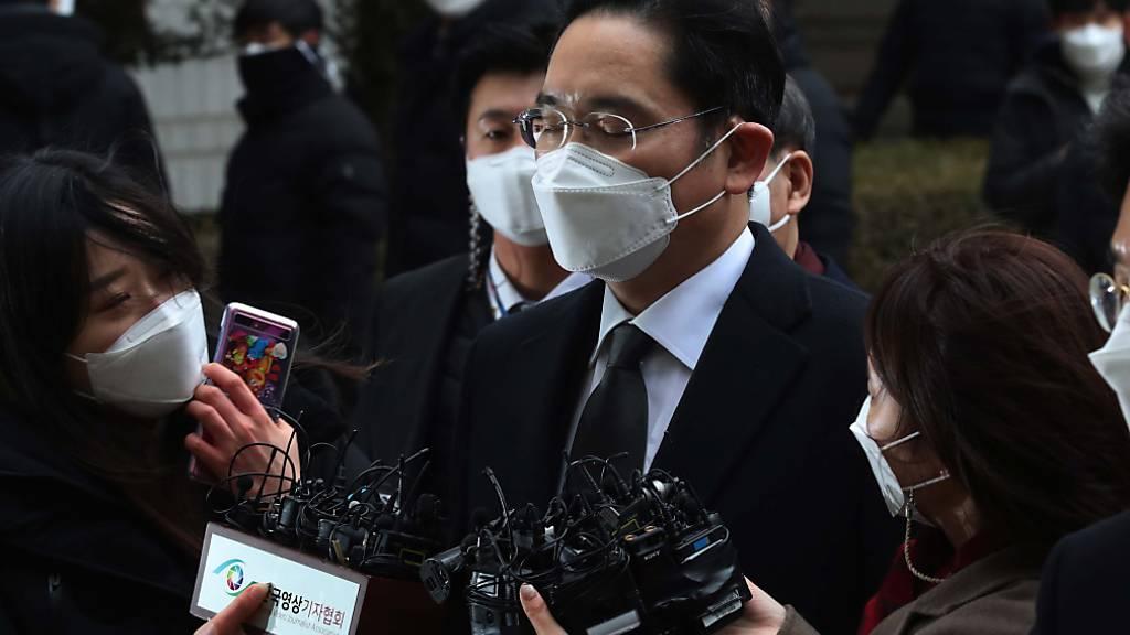 Samsung-Erbe Lee muss erneut ins Gefängnis