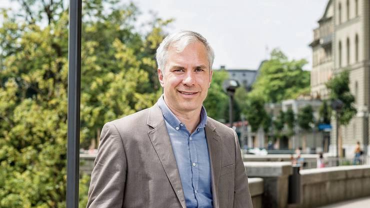 Martin Ackermann gestern in Bern vor einer Sitzung mit dem BAG.