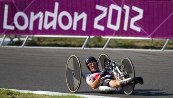 Heinz Frei hat in seiner Karriere schon viele Erfolge feiern können - wie hier bei den Paralympics in London.