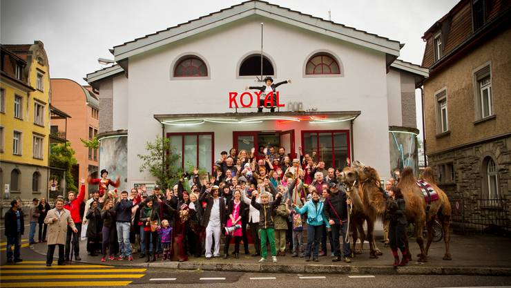 Im Herbst 2011 startet der Kulturbetrieb im ehemaligen Kino Royal. (Archiv)