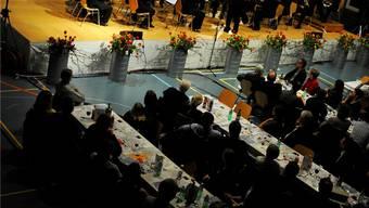 Über 400 Personen genossen Galadiner und Konzert der Musikgesellschaft Aarwangen.Isabel Mäder