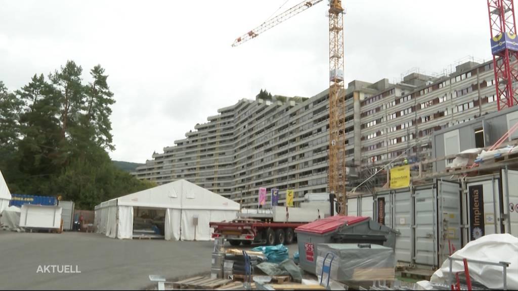 Monsterbaustelle Telli: Bewohner müssen ihre Wohnung während den Arbeiten nicht verlassen