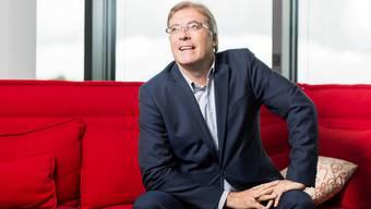 Ein Walliser an der Spitze der SRG Ex-Staatsrat Jean-Michel Cina steht seit Mai dem Verwaltungsrat vor.