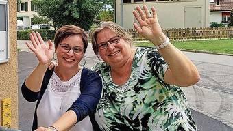 Vittoria di Nicolantonio und Karin Maselli (von links) haben bis zu den Sommerferien die Kinder am Mittagstisch betreut.
