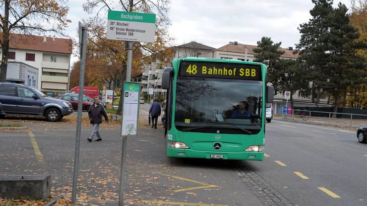 Was geschieht mit der Buslinie in einem Jahr?