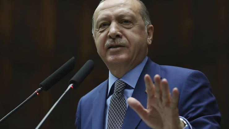 Der türkische Präsident Recep Tayyip Erdogan äussert sich in einem Gastkommentar in der Washington Post zur Tötung des saudiarabischen Journalisten Jamal Khashoggi. (Archivbild)