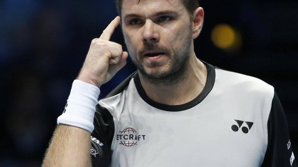 Stan Wawrinka weiss vor dem Schlüsselspiel gegen Andy Murray, was er will