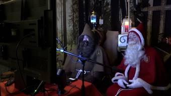 Besuch via Videoanruf: Der Chlaus ist wehmütig am diesjährigen 6. Dezember.