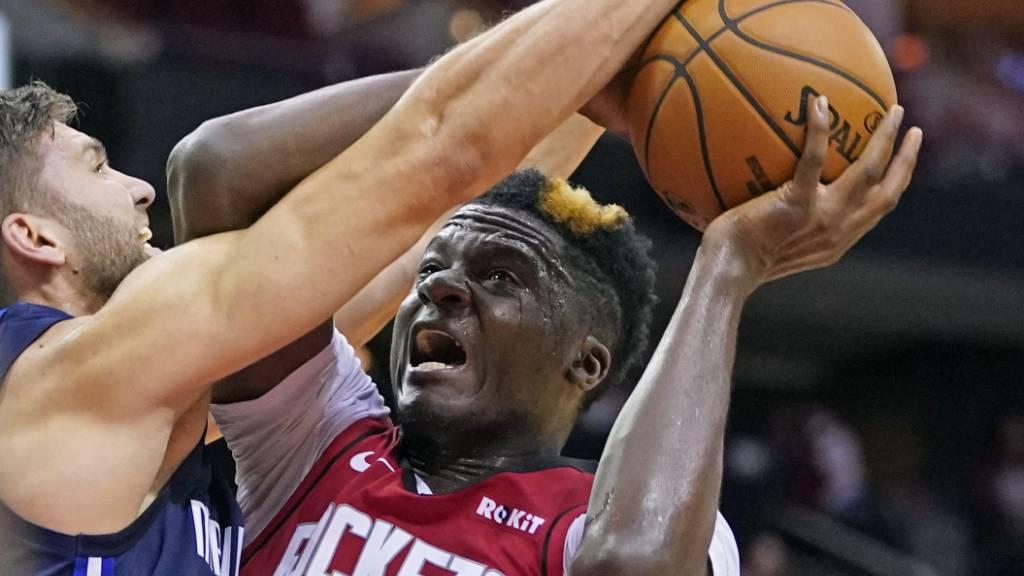 Die Rockets verlieren nach deutlicher Führung