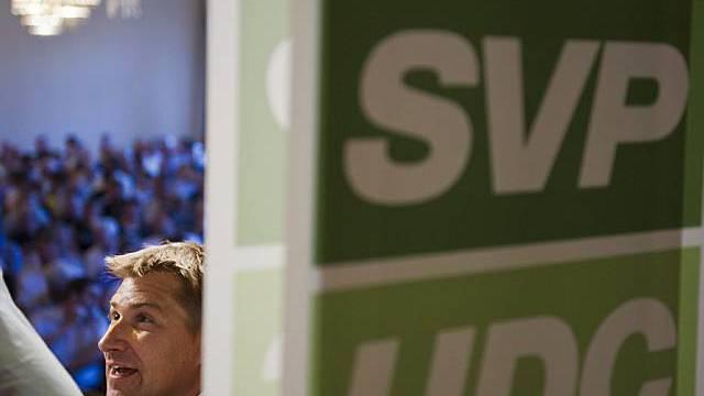 SVP-Präsident Toni Brunner (Archiv)