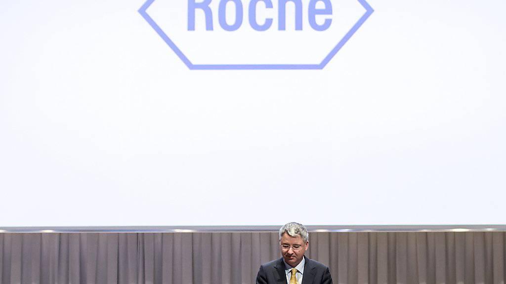 Roche-Chef Severin Schwan ist laut einer Studie der europaweit bestbezahlte Spitzenmanager. (Archivbild)