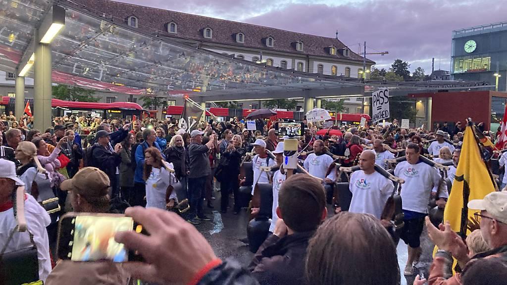 200'000 Franken pro unbewilligte Coronademo – Demonstranten sollen blechen