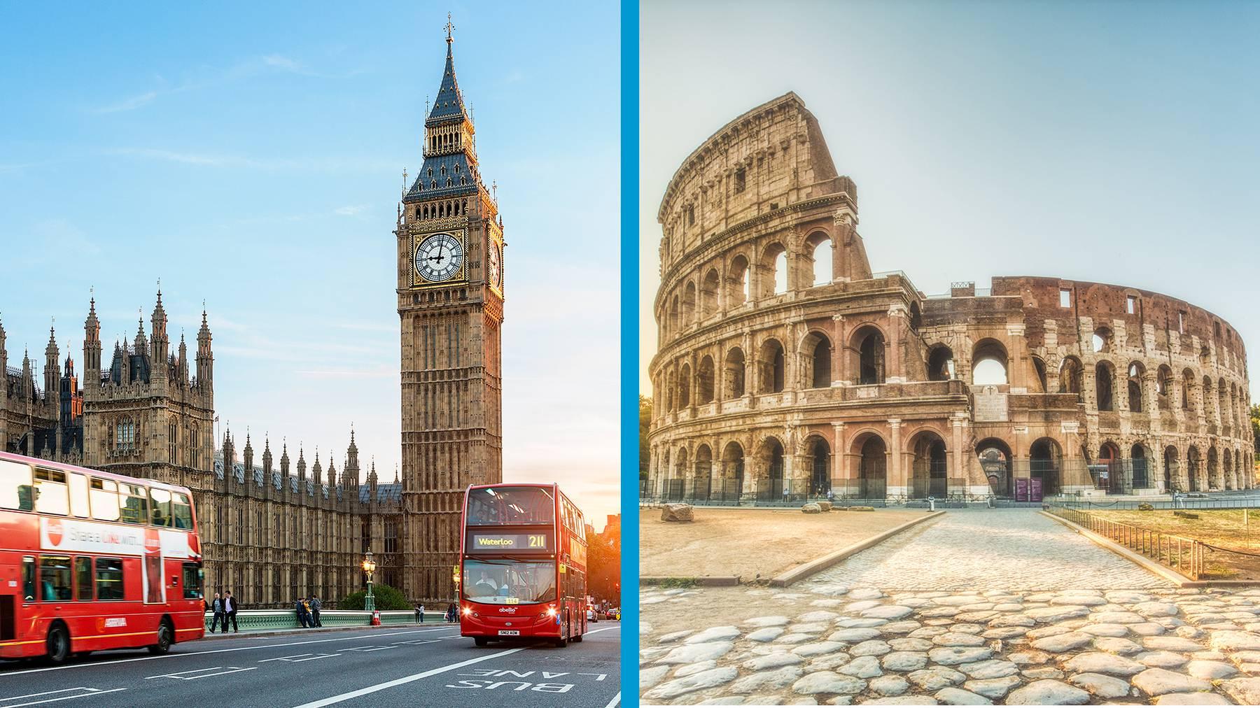 London oder Rom?