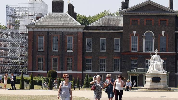 Dank der günstigen Wechselkurse boomt der Tourismus in Grossbritannien (Archivbild vom Kensington Palace).