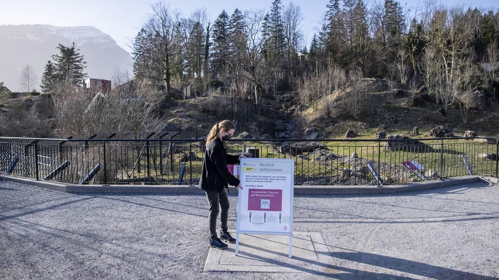 Tierpark Goldau Wiedereröffnung