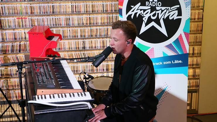 Bei «Glück auf» wechselte Joris ans Klavier