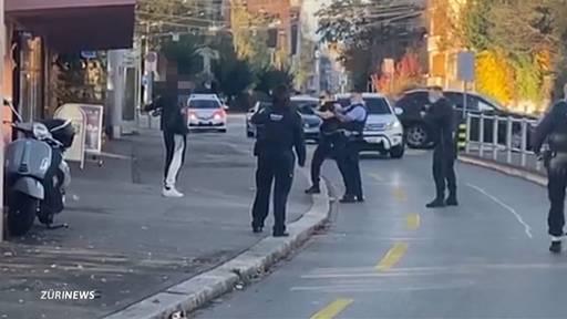Polizei stoppt bewaffneten Ladendieb am Rigiplatz mit Taser