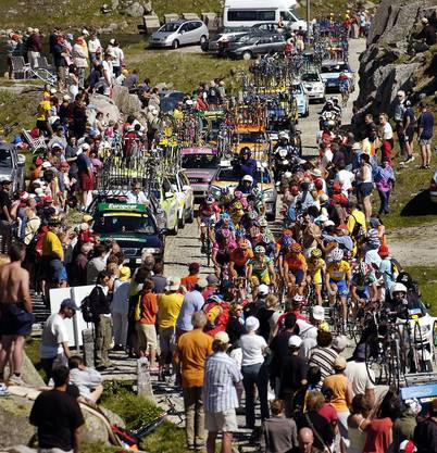 Die Faszination Tour de Suisse ist ungebrochen