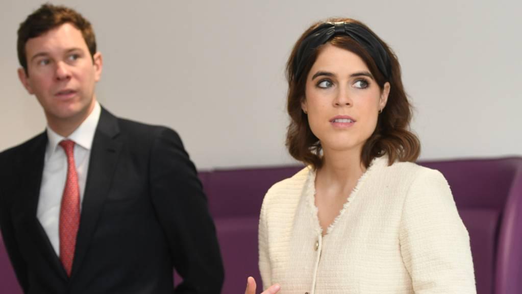 Prinzessin Eugenie und Jack Brooksbank sind Medien zufolge ins Frogmore Cottage in Windsor gezogen.