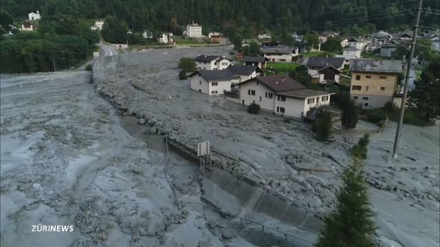 Überlebenschance für Bergsturz-Vermisste gering