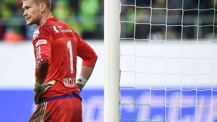 FCB-Torhüter Tomas Vaclik wird in diesem Jahr nicht mehr zum Einsatz kommen