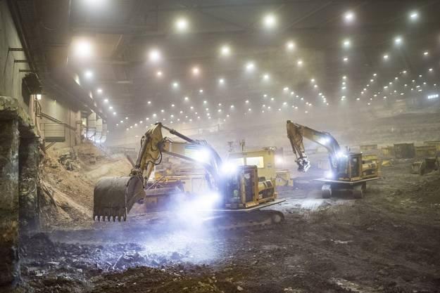 Rund 600'000 Tonnen Sondermüll wurden in acht Jahren ausgebaggert und entsorgt.