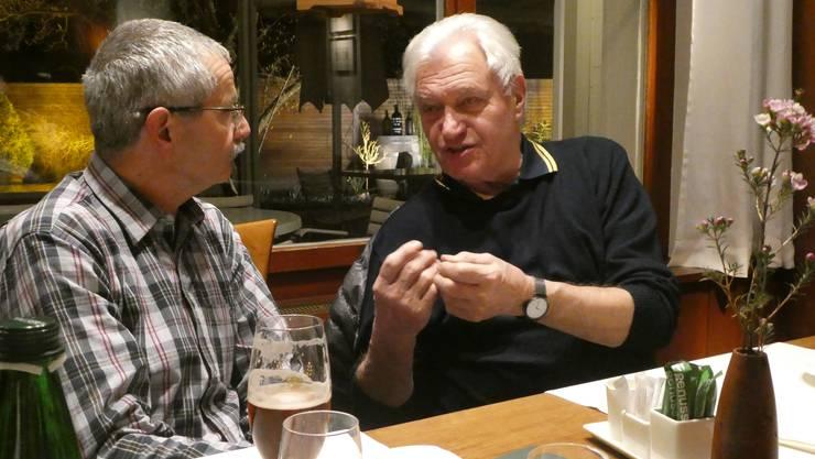 Dino Sembinelli und Karl Spielmann
