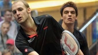 Mit Konzentration und Talent lässt der Hirzler Nicolas Müller seine Gegner hinten anstehen. Irena Vanisova/ZVG