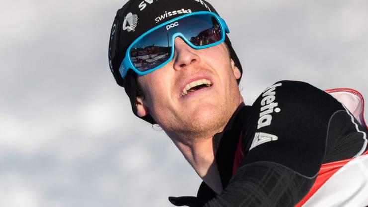 Tim Hug erreichte in Sapporo den zweiten Podestplatz seiner Karriere