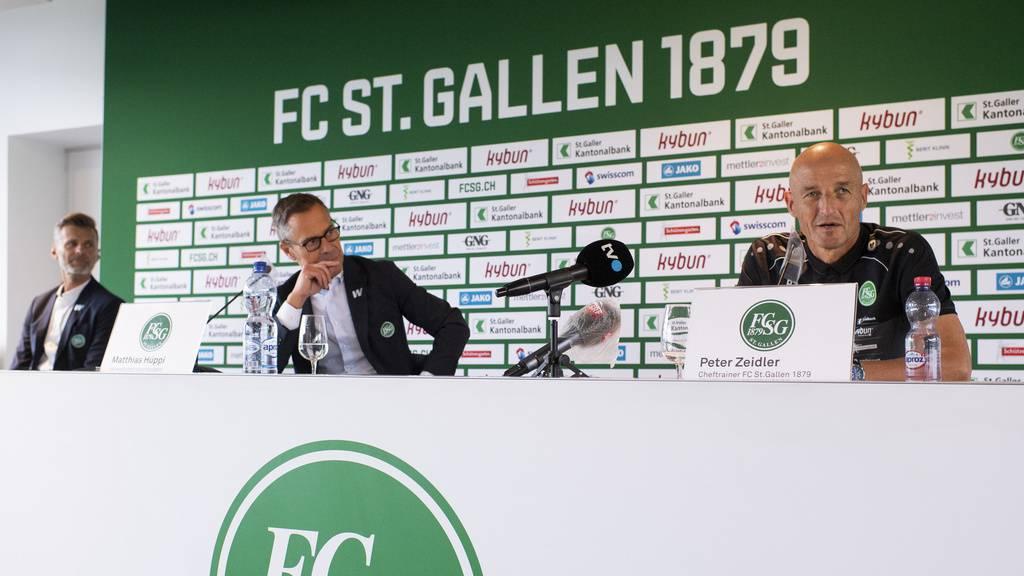 Hüppi: «Cedric Itten wird den FC St.Gallen verlassen» – auch Klinsmann, Costanzo und Vilotic sind weg