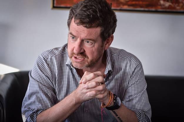 Ex-«Bild»-Chefredaktor Kai Diekmann, hier bei einem Interview mit der «Schweiz am Sonntag» Ende 2015.