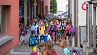 Schulbeginn im Kanton Solothurn