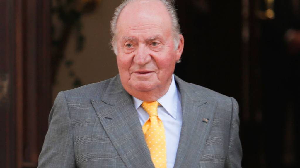 Spaniens Ex-König Juan Carlos geht ins Exil
