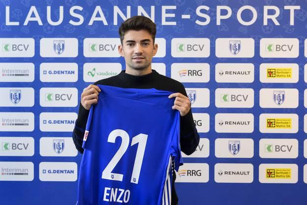 Kriegt er die Kurve noch? Enzo Zidane will in Lausanne seine Karriere neu lancieren.