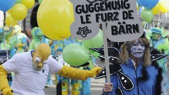 Nicht bloss ein Berner Furz: Fasnacht in der Bundeshauptstadt