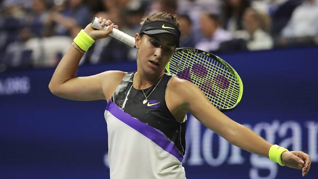 Zum Verzweifeln: Belinda Bencic verpasste in ihrem ersten US-Open-Halbfinal zu viele Chancen