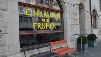 Bald geöffnet: der Consum an der Rheingasse.