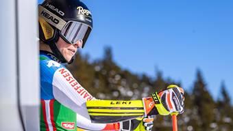 Lara Gut-Behrami (29) kommt im ersten Abfahrts-Training in St. Anton gut mit der Piste zurecht.