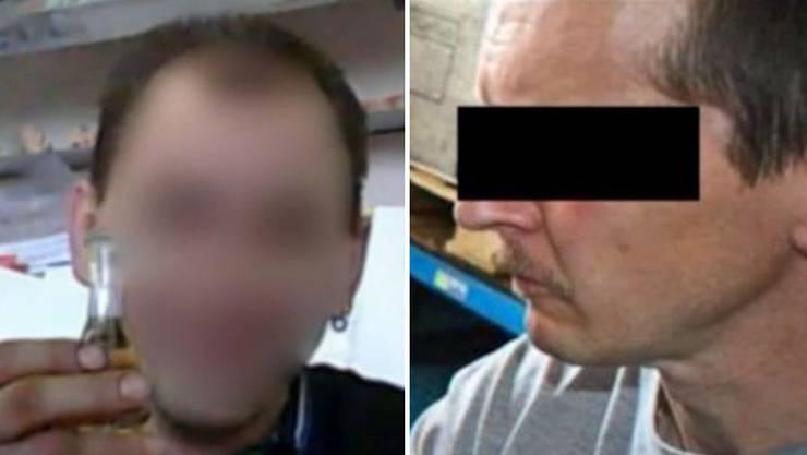 Zeljko J. (43) und Daniel G. (51): Sie sollen für den Tod von David M. im Oktober 2012 in Gränichen verantwortlich sein.